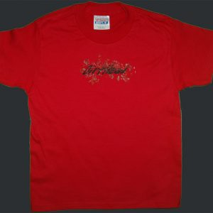Kids DirtHead Red Tee