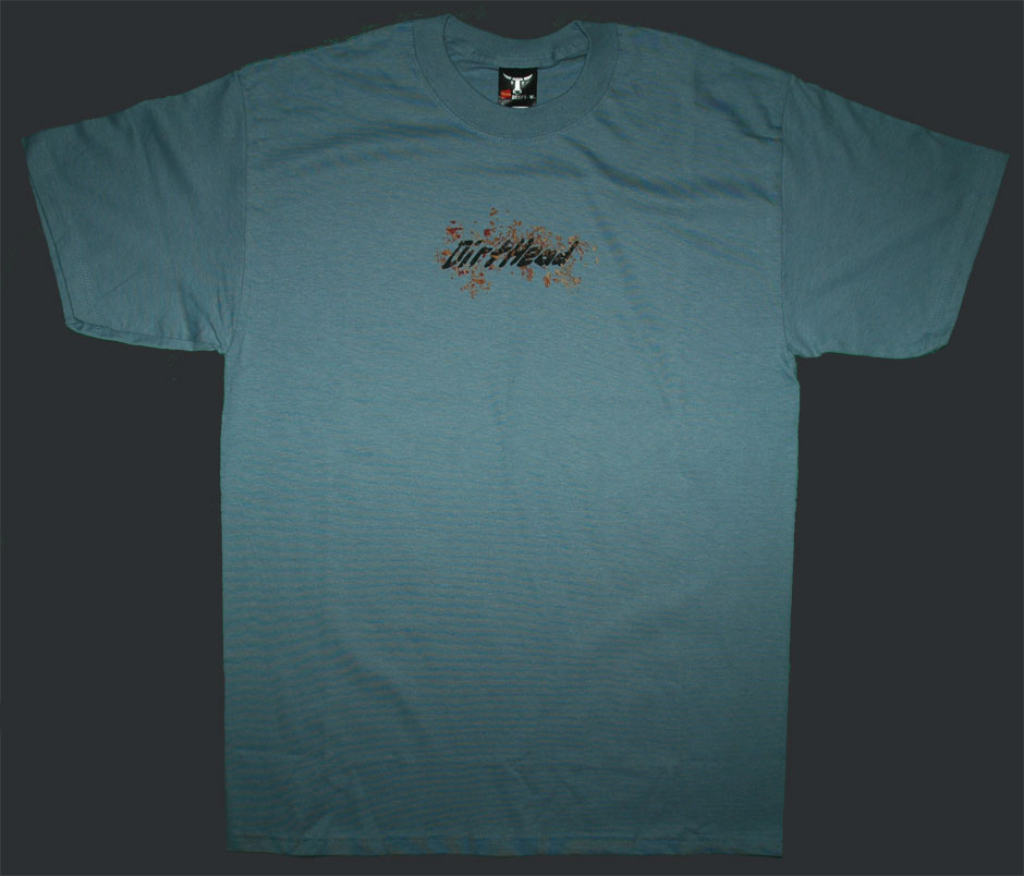 Splat Stonewashed Blue Tee Front