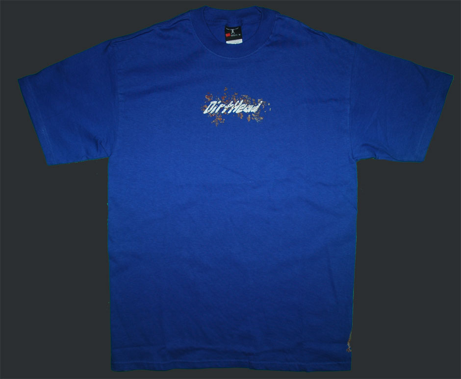 Splat Team Colors Blue Tee Front