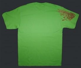 Splat Team Colors Green Tee Back