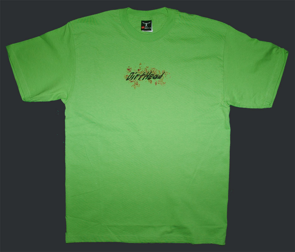 Splat Team Colors Green Tee Front