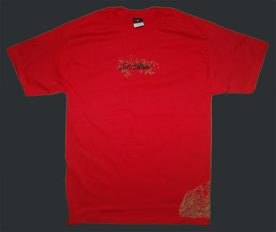 Splat Team Colors Red Tee Front