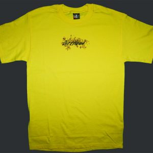 Splat Team Colors Yellow Tee Front