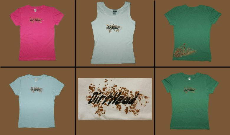 DirtHead Women's Tees and Hat